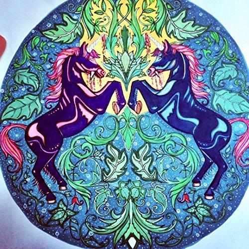 Johanna Basford Enchanted Forest Colouring Canvas