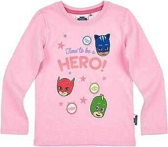 PJ Masks Chicas Camiseta Mangas largas - Rosa