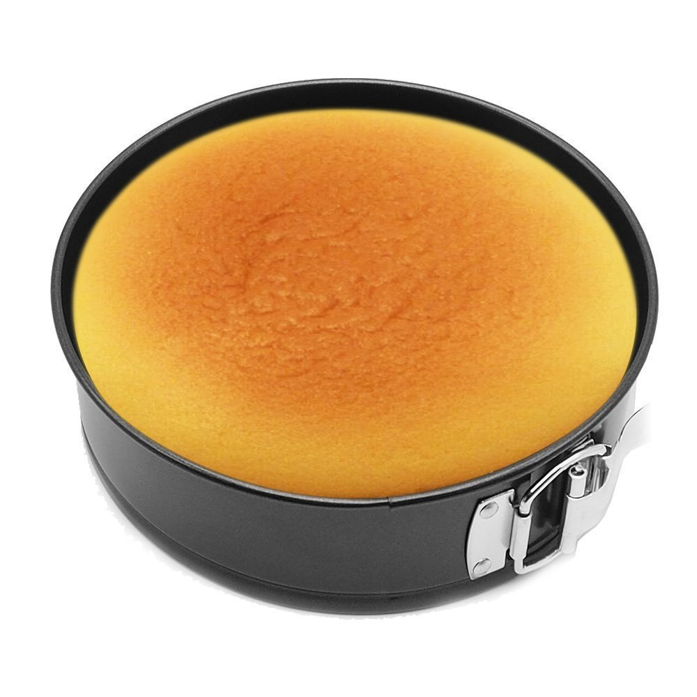 EDOBLUE 7 Inch Springform Pan Leakproof Cake Pan Non-stick for Cheesecake Baking (7 inch)