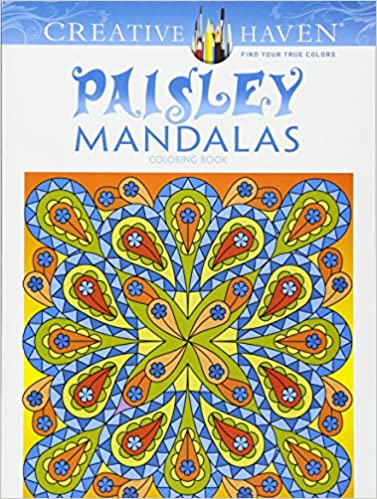 Amazoncom Creative Haven Paisley Mandalas Coloring Book Adult