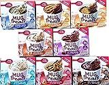 microwave cake mug - Betty Crocker Mug Treats Muffin & Cake Mixes - Variety Pack - Bundle of 8