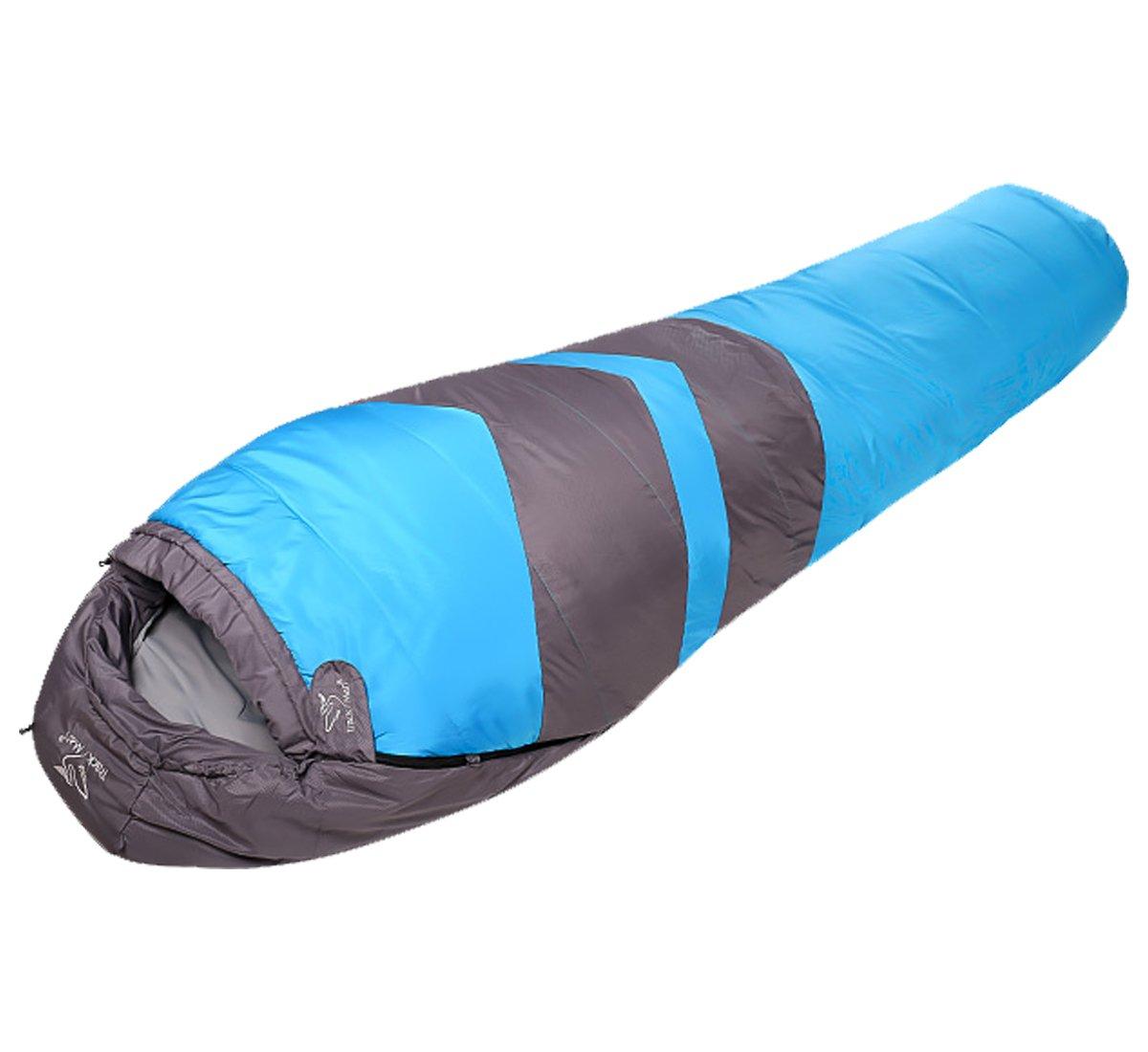 Trackman軽量Sleeping Bag for旅行、キャンプ、ハイキング Bag、アウトドア活動、ブルー B071WQC4S2, ホルキン:f40be865 --- rakuten-apps.jp
