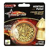 Gamo Outdoors AirStar 6 Blade Sharp Tip Hunting Pellet.177 Caliber