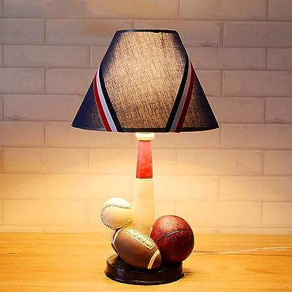 Rishx American Retro LED Lámpara de Mesa de Dibujos Animados ...