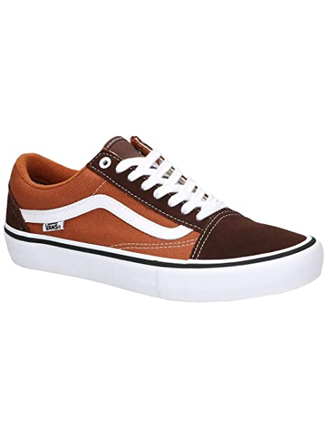Vans Old Skool Pro Potting Soil/Leather Brown: Amazon.de: Schuhe ...