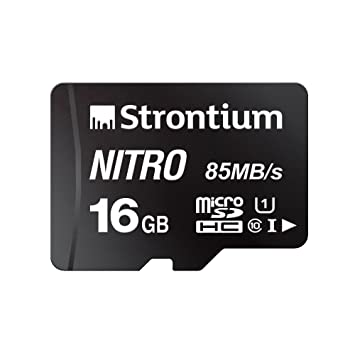 estroncio Nitro 16 GB MicroSD SDHC UHS-1 Class 10 tarjeta ...