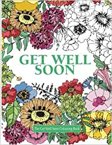 Amazon The Get Well Soon Colouring Book Really
