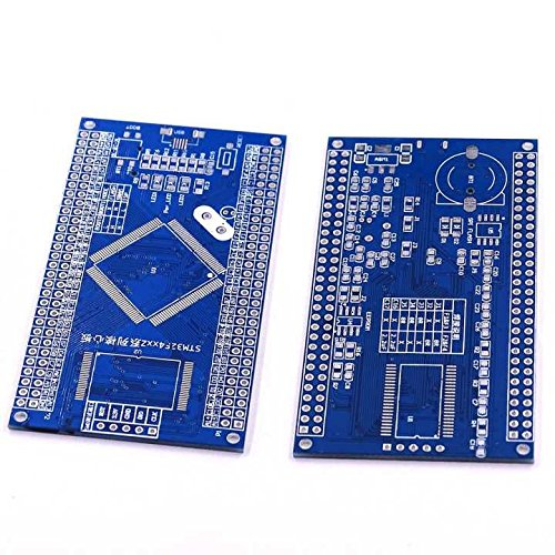 (Kaifani 1pcs DIY STM32F1/F2/F4 LQFP 144 Feet Empty Compatible CPU Core Board PCB Board)
