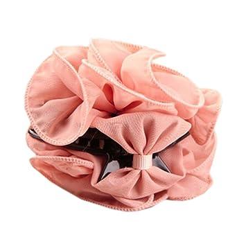 3 Stück Haarspange Haarkrebs Haarklammer Haargreifer weiß rote Blumen