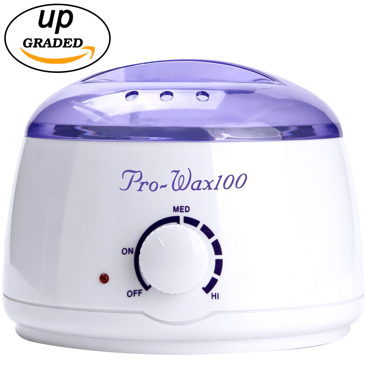 Wax Warmer E'YOBE Hair Removal Wax Warmer - 2018 Professional Painless Wax Pot Heater for Rapid Waxing of All Body, Face, Bikini Area, Legs(Blue)