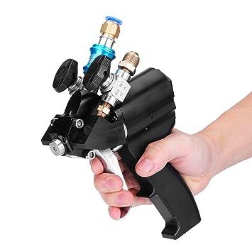 AlLSOME HT1762 Pistola de espuma de poliuretano de alta presión para purga de aire P2: Amazon.es: Bricolaje y herramientas