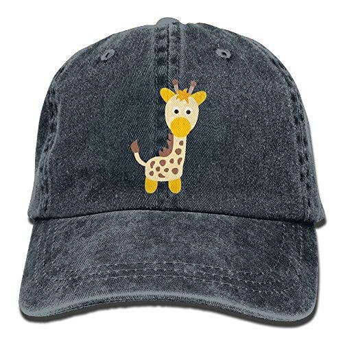 Enby-y Giraffe Clipart Dad Cap Soft Snapback ()