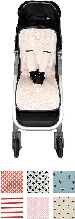 Fundas BCN ® - F158/0140 - Colchoneta Universal para Silla de Paseo - Pink Spike: Amazon.es: Bebé