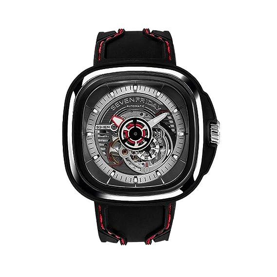 Seven Friday S-Series Reloj de hombre automático 51mm correa de silicona S1-03