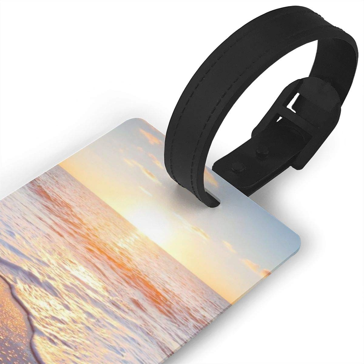 2 Pack Luggage Tags Beaches Baggage Tag For Suitcase Bag Accessories