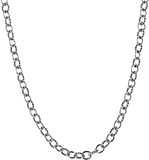 product image for Carolyn Pollack Sterling Silver Chain Necklace - 24 Inch