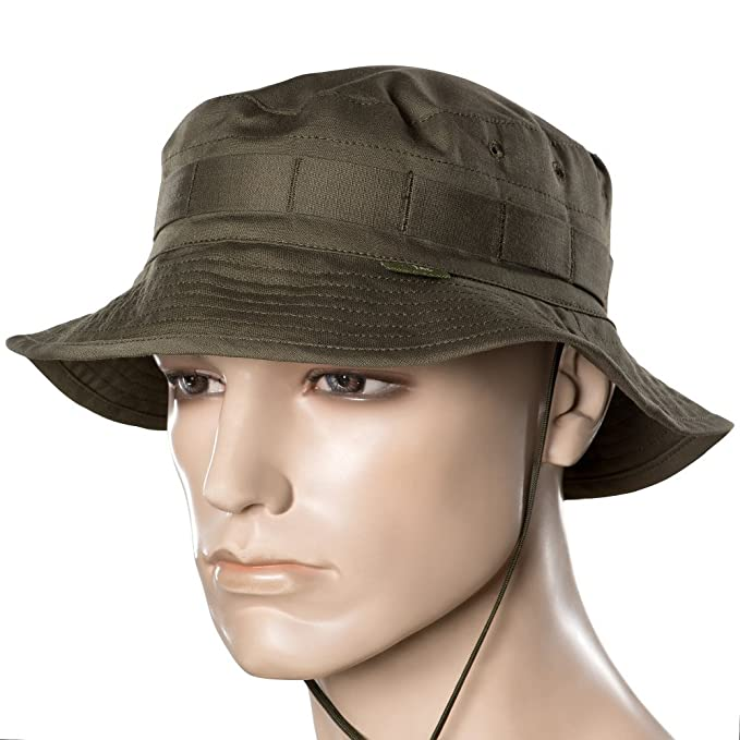 Mens panama hat - boonie hats - military army tactical - with neck flap -  for 8bab2cd9f51