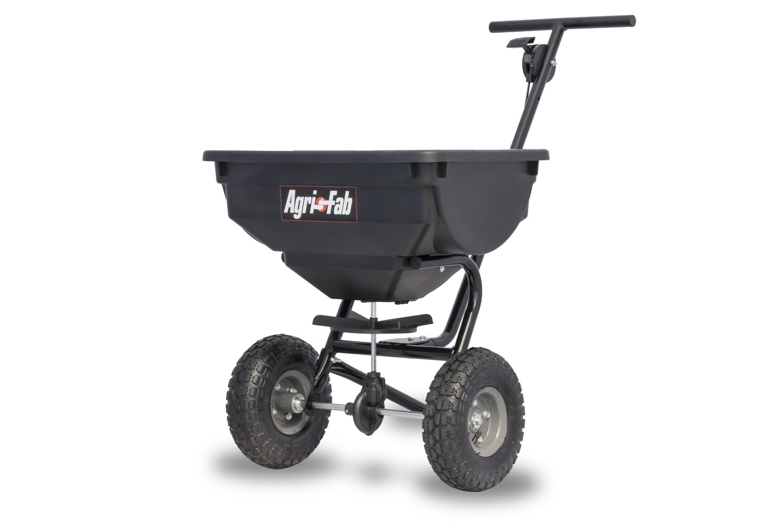Agri-Fab 45-0531 Deluxe Push 85-Lb Spreader, 85 lb, Black