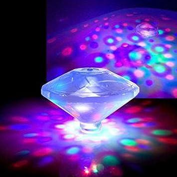 colinsa Unterwasser-LED-Licht, Innovative Sieben-Farben ...