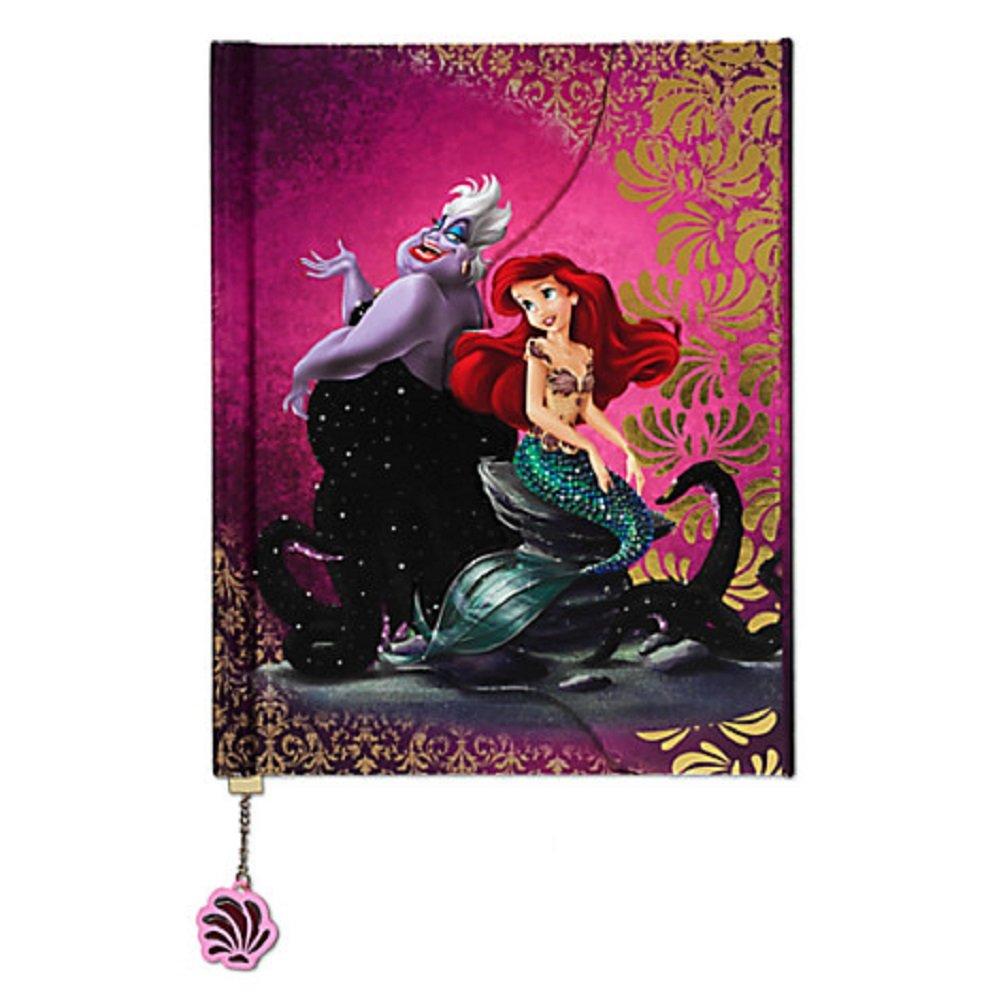 Ariel and Ursula Fairytale Journal Disney Fairytale Designer Collection