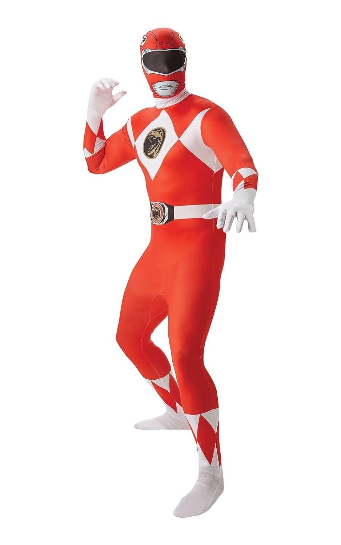 Déguisement Homme Red Ranger 2nd Skin edium