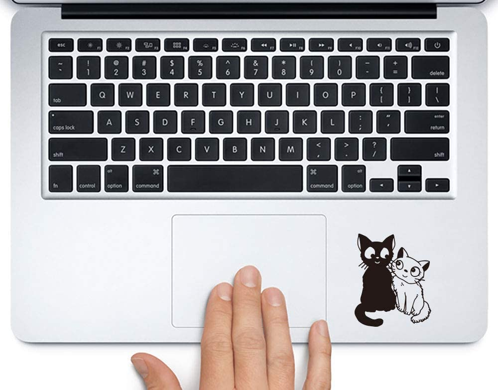 Jiji and Lily Sticker for laptops MacBooks Cars or Any Smooth Surfaces