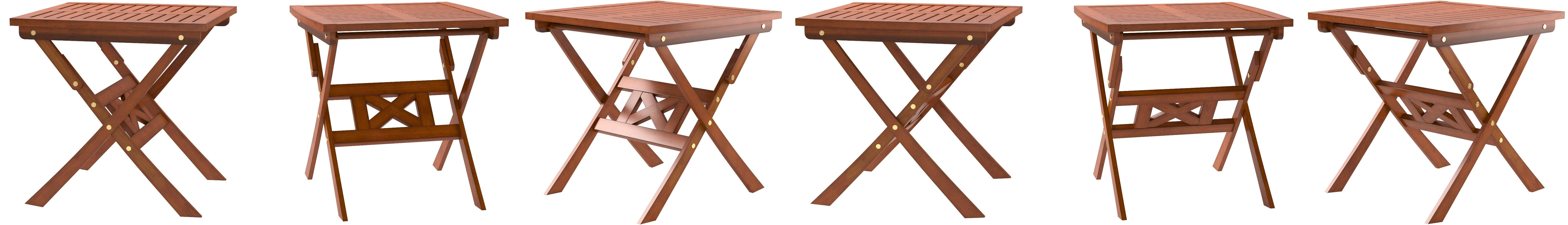 Amazon Com Vifah Malibu Outdoor Folding Bistro Table Garden Outdoor