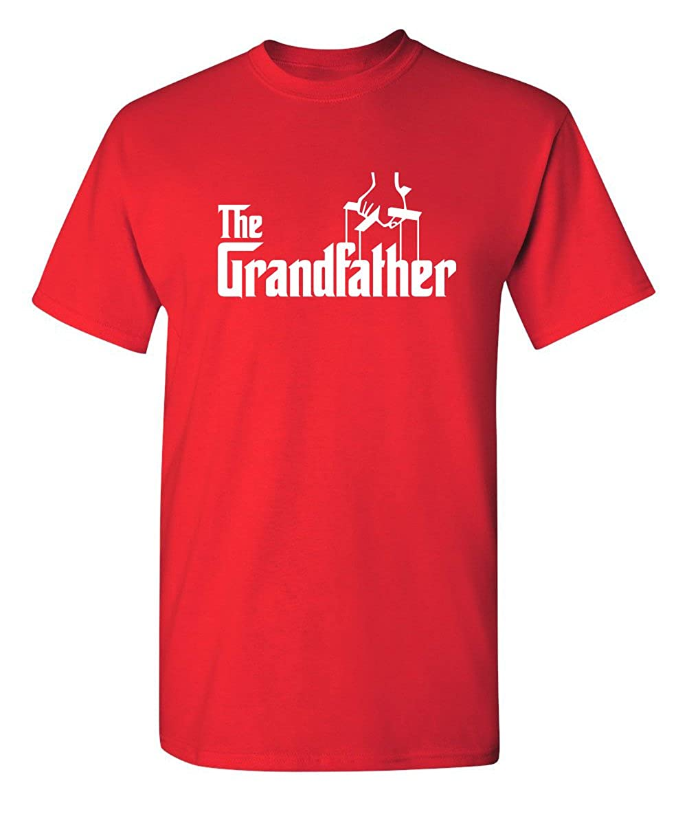 27c209f98 Amazon.com: The Grandfather Gift for Dad Father's Day Mens Novelty  Sarcastic Funny T Shirt: Clothing