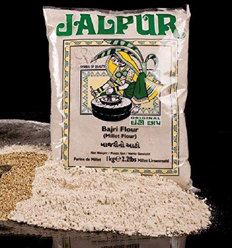 Jalpur Stone Ground Millet Flour (Bajri) 1kg