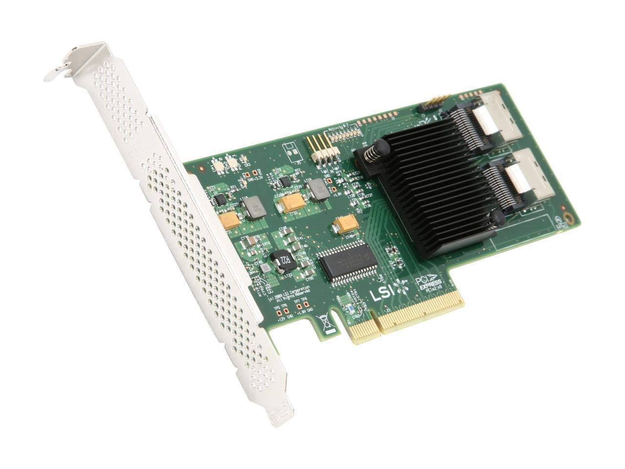 SAS9211-8I 8PORT Int 6GB Sata+sas Pcie 2.0 (Renewed)