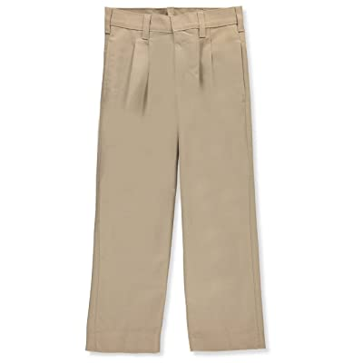 A-PLUS SUPPLY A+ Boys' Pleated Uniform Pants