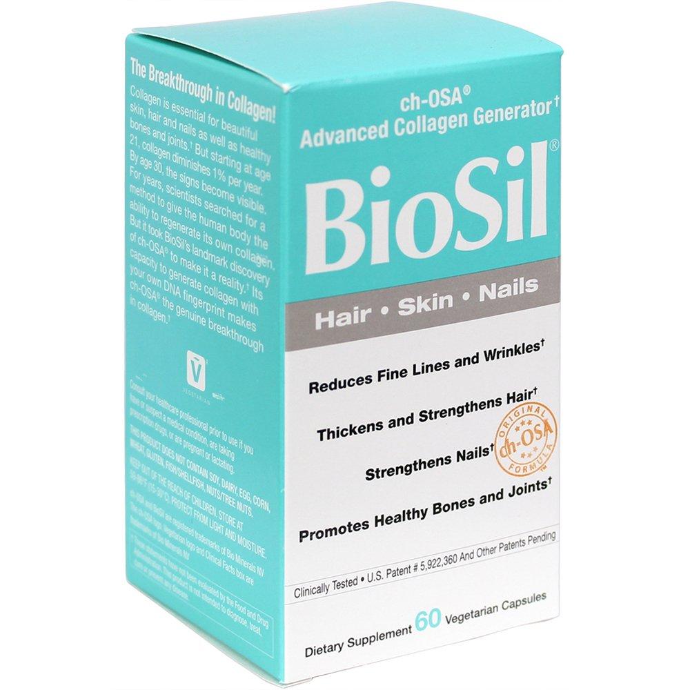 Amazon.com: BioSil - Hair, Skin, Nails, Natural Nourishment For ...