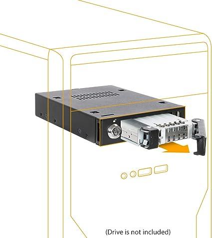 "Icy Dock ToughArmor MB991IK-B - Rack Extraible 2.5"" SATA o SAS en ..."