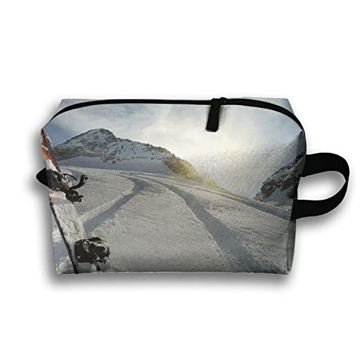 reputable site sale retailer really comfortable Amazon.com: With Wristlet Cosmetic Bags Snow Mountain Ski ...