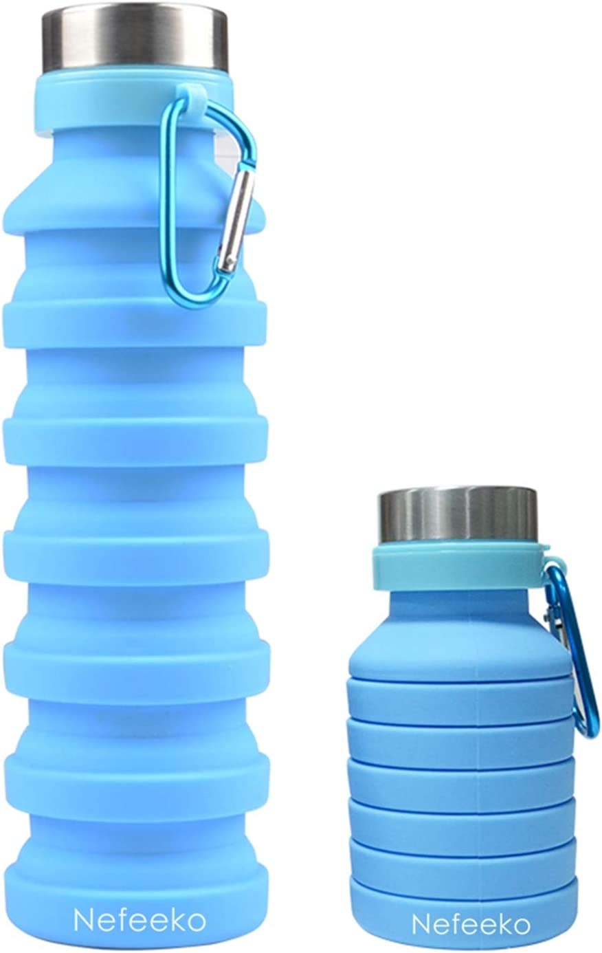 Collapsible water bottle - great for travel