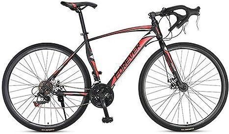 Mnjin Bicicleta de Carretera Mountain Bike Racing Hombres aleación ...