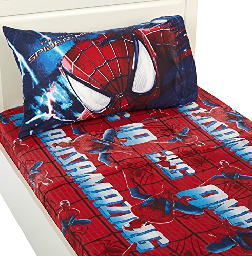 Marvel Amazing Spiderman 2 Slash Sheet Set, Twin