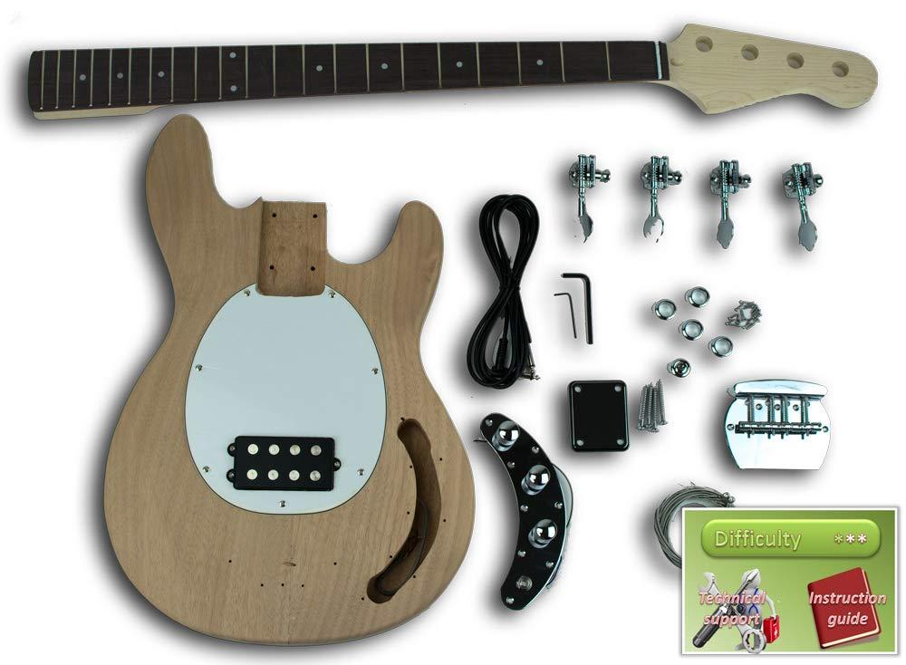 DIY Bass Music Man Sting Ray - DIY Kit - Build Your Own Guitar Kit Fabric