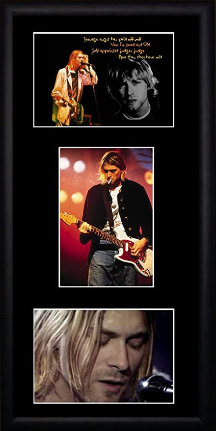 Kurt Cobain fotos enmarcadas: Amazon.es: Hogar