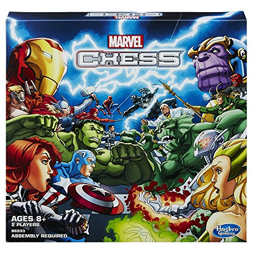 Marvel Chess Board Game (Board Game Free Ship)