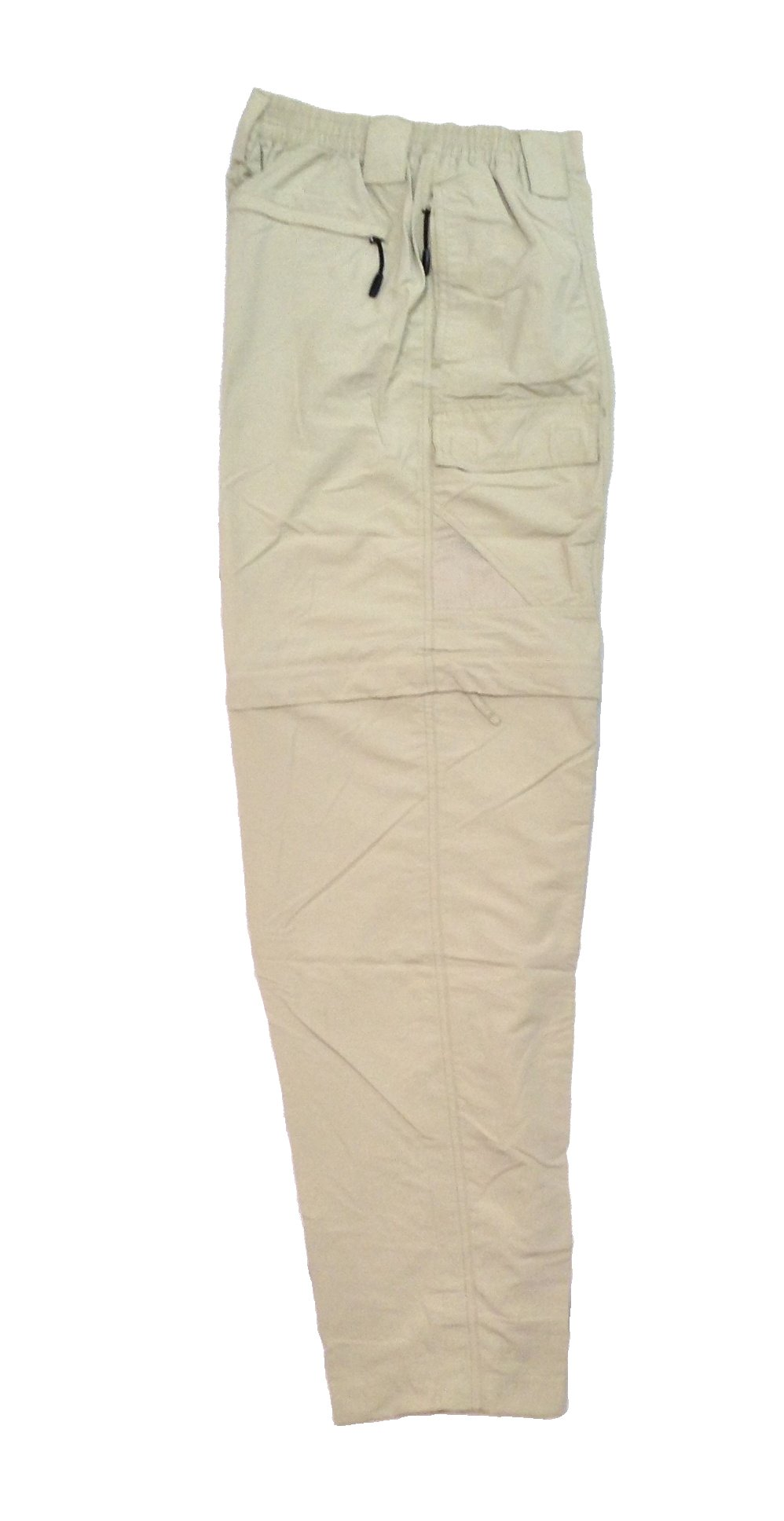 imini Bay Outfitters Men's Grand Cayman Zip-Off Nylon Pants 61670 Fossil M by Bimini Bay Outfitters