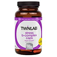 Twinlab, Stress B-Complex Caps|100 Capsules| Supports Energy Production Stress Relief...