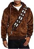 Star Wars Chewbacca Kostüm Herren Hoodie Braun Warm S
