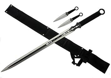 Amazon.com: Tactical Master Machete Set con cuchillos de ...