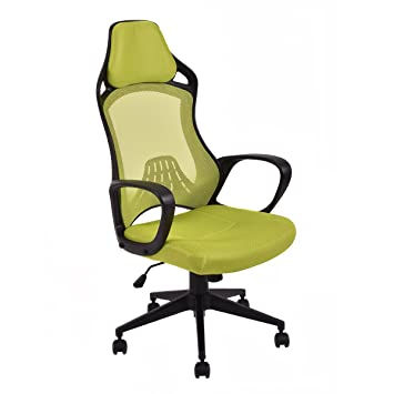 Giantex Executive Racing silla Gaming oficina giratorio de espalda alta silla de escritorio Task: Amazon.es: Oficina y papelería