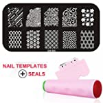Gellen Nail Templates Image Plate Of...