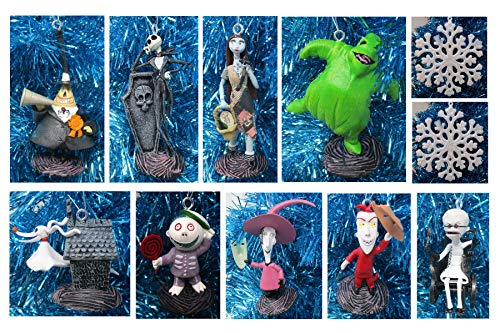 Ornament Nightmare Before Christmas 12 Piece Holiday Christmas