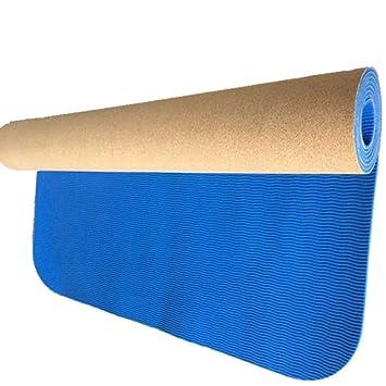LETAMG Yogamatte 5 Mm Anti Skid Natürliche TPE Kork Marke ...