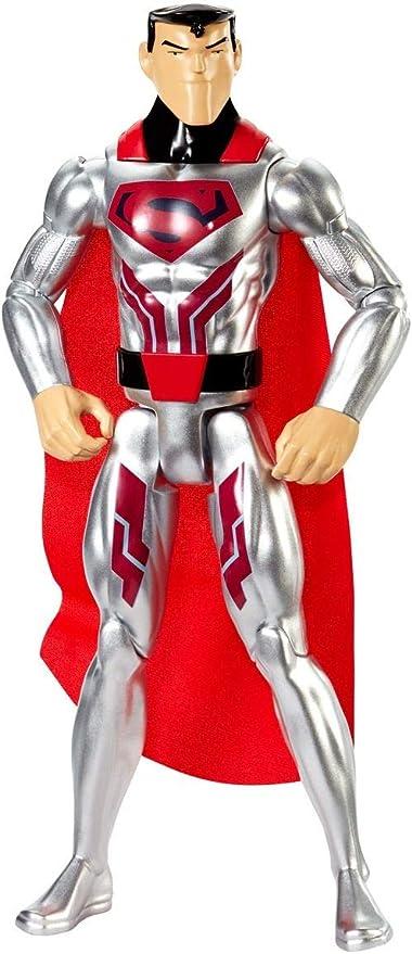 Amazon.com: dc comics de la liga de la justicia acero traje ...