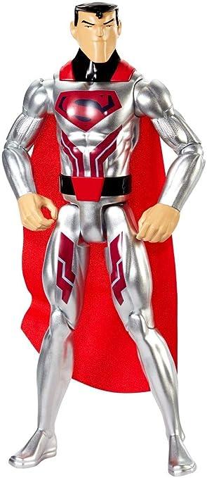 Justice League Figura básica Traje de Acero, 30 cm (Mattel FPC61)